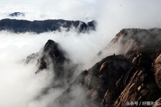 黄山四绝,最美是云海