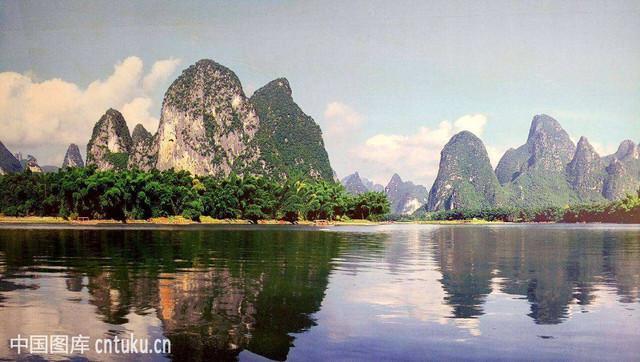 桂林山水甲天下,阳朔山水甲桂林