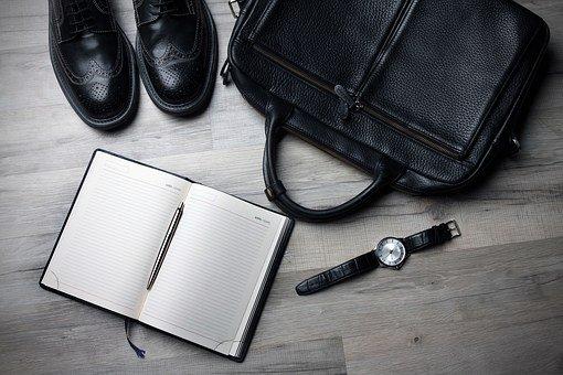 业务, 商务人士, 商人, 鞋, 手表, 规划师, 手提箱, 小样